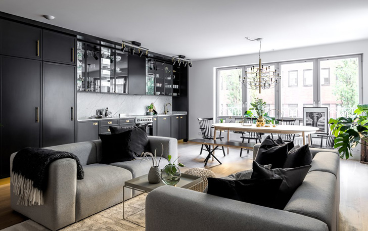 Modern Black White Interior Design Ideas Homes